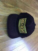 VTG 80's NFL Washington Redskins Corduroy Snapback Hat Cap Made In The USA