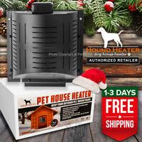 Akoma Hound Heater Deluxe PLUS Dog House Furnace 300 Watt PTC w/ Fan USA CANADA