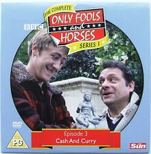 DVD The Sun Promo ONLY FOOLS and HORSES, Episode 3 CASH AND CURRY with Grandad