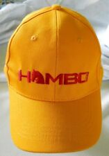 HAMBO 2016 FINN TACK YELLOW HAT CAP ADJUSTABLE CLOTH STRAP