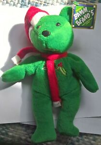 BAMM BEANO'S CHRISTMAS BEAR,  ISSUED IN  1998  DAVID JUSTICE  #23