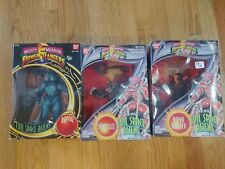 Lot of 3 Power Rangers Mighty Morphin (1994) Bandai Deluxe Evil Space Aliens