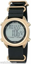 Jack Spade Men's Digital Display Quartz Black Watch WURU0225
