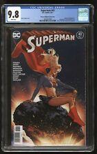 SUPERGIRL #34 Mexican Variant CGC 9.8 ADAM HUGHES (Superman #43) Ltd. to 1000
