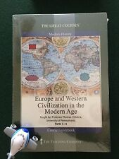 Europe and Western Civilization Modern Age DVD Great Courses / Teaching Company