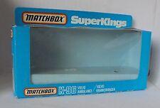 Repro Box Matchbox SuperKings K-96 Volvo Ambulance