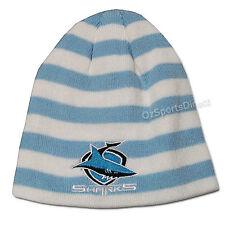 NRL Cronulla Sharks Retro Striped Beanie  **SALE PRICE**