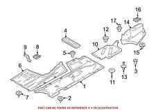 For BMW Genuine Floor Pan Heat Shield Bracket Center 51757241832