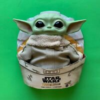 Star Wars The Mandalorian The Child Baby Yoda Grogu Mattel Plush Toy 11 inch