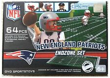 NEW England Patriots NFL 64 PEZZI Oyo end zone Toy Figure Set