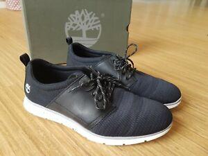 Timberland Herren Schuh Sneaker A15AL Oxford SensorFlex Gr 46 US12W Schwarz