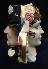 Vintage Large Royal Doulton Napoleon and Josephine Double Sided Character Jug