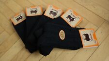 Naturel Wool Black Mountaineer Style Women *Winter* Socks- 5 Pairs Pack *Warmly*