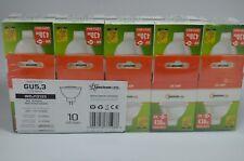 10x 6W MR16 GU5,3 LED Strahler Lampe Leuchtmittel Spot AC DC 12V warmweiss