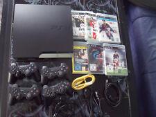 Playstation 3 ,149 GB + 6 Spiele + 4 Controller