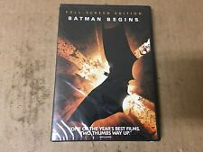 Batman Begins (Dvd, 2005, Full Frame) Shelfpull
