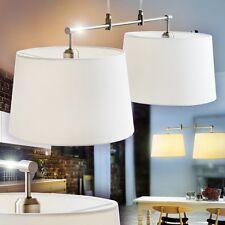 Hängelampe Stoff weiß Pendelleuchte Esszimmer Leuchte Pendellampe Zimmer Lampe