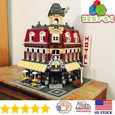 Building Blocks Sets Creator Expert 15002 Cafe Corner City Bricks Model Kids Toy