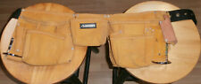Husky Brand Heavy Duty Contractor-Grade Suede Leather Work Apron Belt, Unused