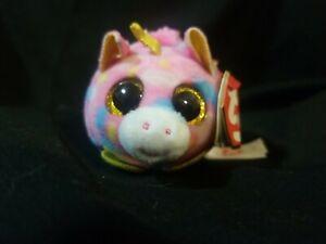 "TY Beanie Boos Teeny Tys 4"" STAR Unicorn Plush Stuffed Animal"