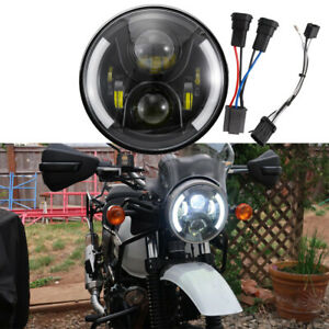 """For 2018 2019 2020 Royal Enfield Himalayan 7""""inch LED Headlight With Turn Signal"""