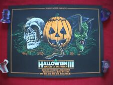 HALLOWEEN III 3 MONDO ORIGINAL MOVIE POSTER ART PRINT SEASON OF THE WITCH MASKS