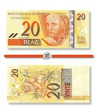 Brazil 20 Reais 2002 Unc Pn 250b - Banknote24