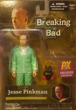 "Breaking Bad ""Jesse Pinkman (Azul materiales peligrosos)"" PX Exclusiva Figura de acción (Mezco)"