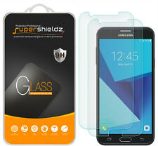 2X Supershieldz Samsung Galaxy J7 (2017) Tempered Glass Screen Protector Saver