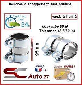 MANCHON CONNECTEUR D'ECHAPPEMENT/RACCORD POUR LIGNE/TUBE 50 mm l'unité 4855095