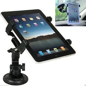 "360° Universal Adjustable Car Suction Mount Holder iPad & Galaxy Tablets 7 - 11"""