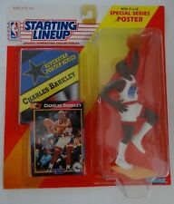 1992 Starting Lineup Charles Barkley Philadelphia 76ers Kenner Basketball Figure