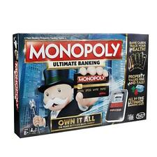 Hasbro Monopoly Ultimate Banking Board Game - B6677
