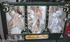 1999 Holiday Creations Musical Angel Trio 3 Angels 3 Speakers - Favorite Carols