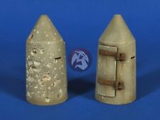 Verlinden 1/35 German One-Man Shelter WWII (1 Undamaged & 1 Battle-damaged) 2628