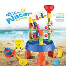 Baby Kids Summer Beach Toy Large Play Water Digging Sandglass Play Sand Table US