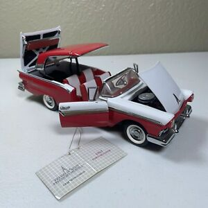 Franklin Mint 1957 Ford Skyliner Hard Top Die Cast 1:24 Retractable Roof FM101
