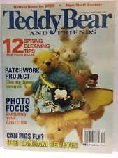 Teddy Bear And Friends Magazine March 2006 issue