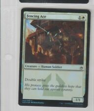 FOIL Fencing Ace Masters 25 Magic The Gathering White Card MTG CCG