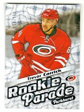 2016-17 UD Parkhurst ROOKIE PARADE TREVOR CARRICK RC 168/999 Retail Only RARE