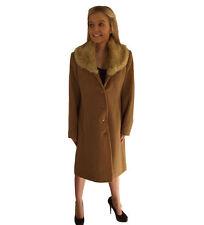 Button Viscose Formal Coats & Jackets for Women