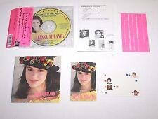 F/S Alyssa Milano The Best In The Word Nonstop Remix CD w/ Stickers Obi JAPAN