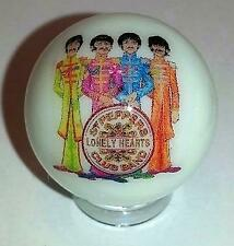 "Nice The Beatles Glass 1"" Logo Marble With Stand # A"
