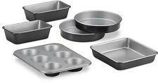 NEW Cuisinart Chef's Classic 6-Piece Nonstick Stainless Steel Pans Bakeware Set
