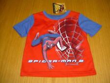 New Wt Spider-Man Red & Blue T-Shirt Top Infant Boys 18 Months