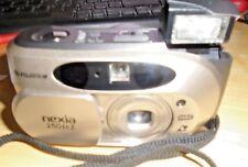 Fujifilm NEXIA 250 IXZ MRC fotocamera completamente funzionante con extra