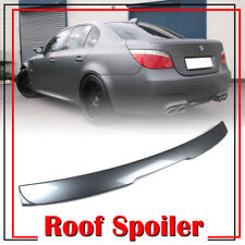 For BMW E60 5-Series A Style Roof Spoiler 528xi M5 4DR Sedan Painted Color #A52