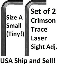 Crimson Trace laser sight adj. Allen Wrench Hex Key Tool 2 pieces-Tiny Size!!
