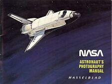 HASSELBLAD NASA ASTRONAUT'S SPACE PHOTOGRAPHY GUIDE MANUAL -500EL/M-from 1984