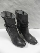 Bottines VIRUS MODA 21455 gris FEMME taille 38 chaussures talons cuir shoes NEUF